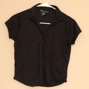 Casual Button Up TShirt